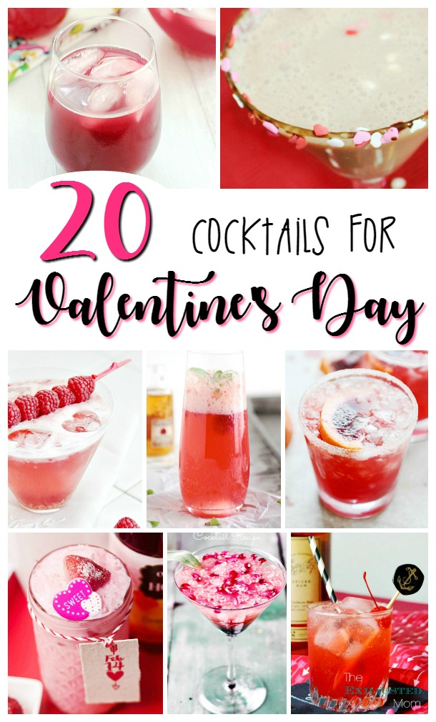 20 Cocktails for Valentine's Day
