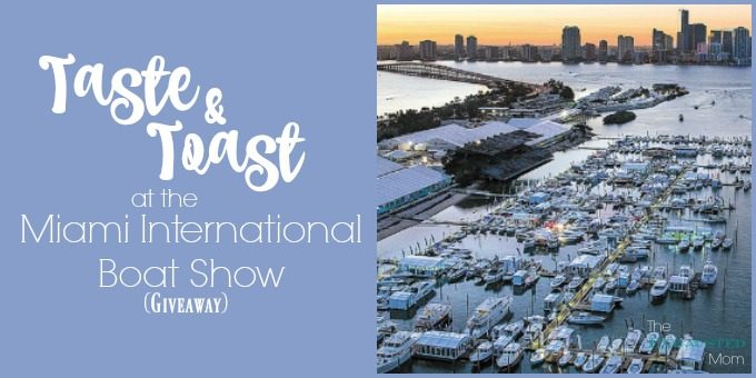 Taste & Toast at the Miami International Boat Show