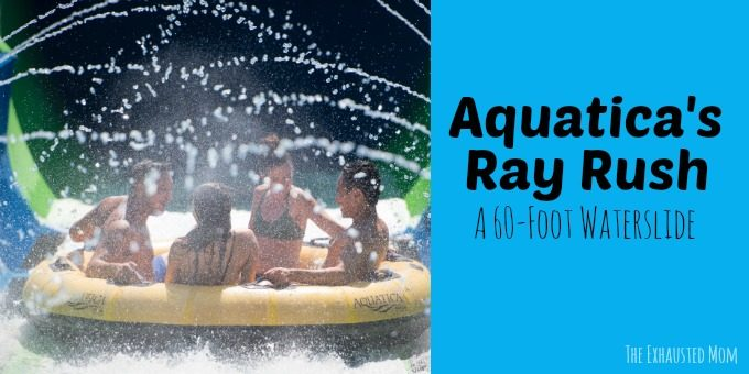Aquatica's Ray Rush: A 60-foot Waterslide