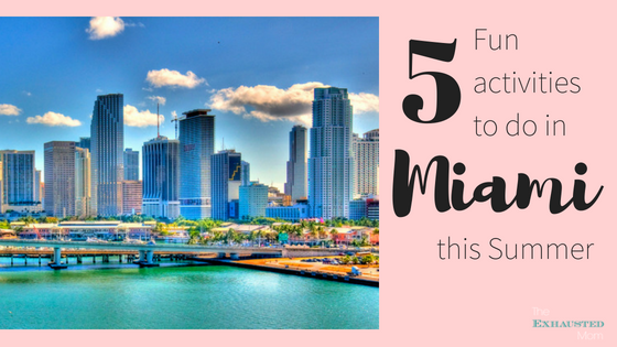 5 Fun Activities to do in Miami this Summer